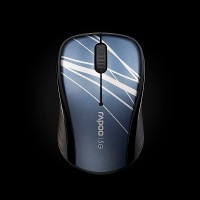 Rapoo Wireless Optical Mouse 3100p Blue