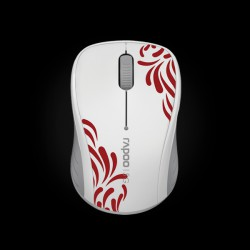 Rapoo Wireless Optical Mouse 3100p White