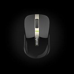 Rapoo Dual-mode Optical Mouse 6610 Black