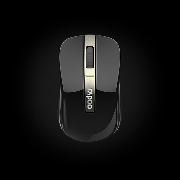 Rapoo Dual-mode Optical Mouse 6610 Black купить