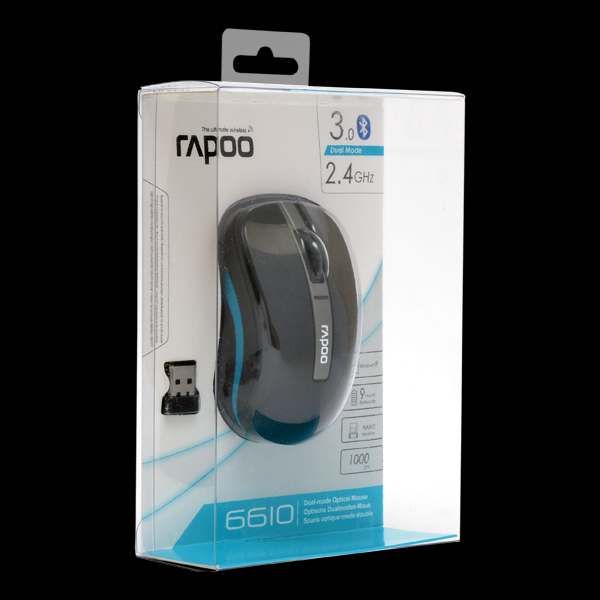 Rapoo Dual-mode Optical Mouse 6610 Black фото