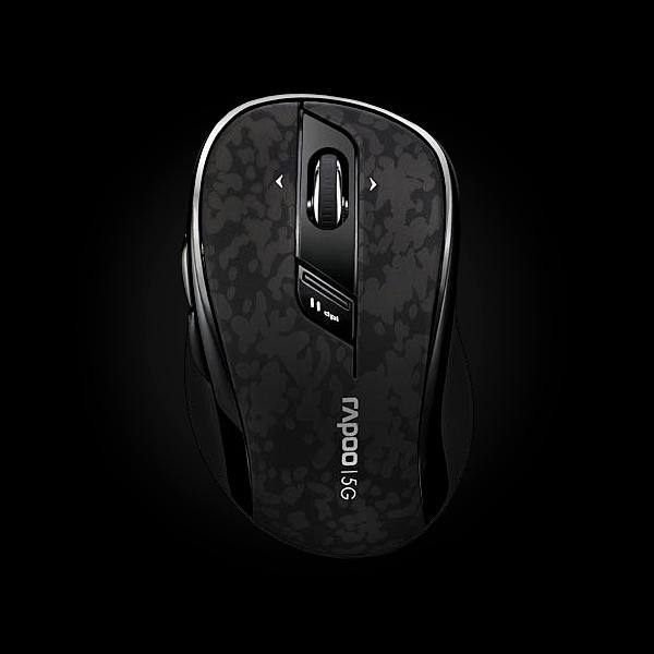 Rapoo Wireless Optical Mouse 7100p Gray купить