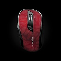 Rapoo Wireless Optical Mouse 7100p Red