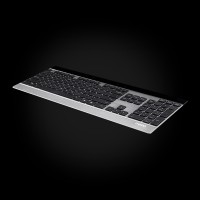 Rapoo Wireless Ultra-slim Touch Keyboard E9270P Silver