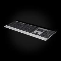 Rapoo Wireless Ultra-slim Touch Keyboard E9270P Silver