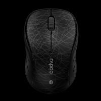 Rapoo Bluetooth Optical Mouse 6080 Black