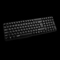 Rapoo Wireless Keyboard E1050 Black