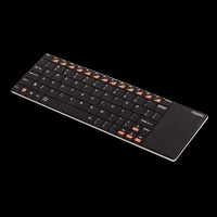 Rapoo Wireless Multi-media Touchpad Keyboard E2700 Black
