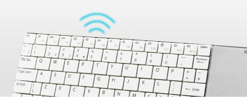 Белая клавиатура