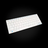 Rapoo Wireless Compact Ultra-slim Keyboard E9050 White