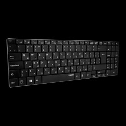Rapoo Wireless Ultra-slim Keyboard E9070 Black