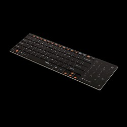 Rapoo Wireless Touchpad Keyboard E9080 Black