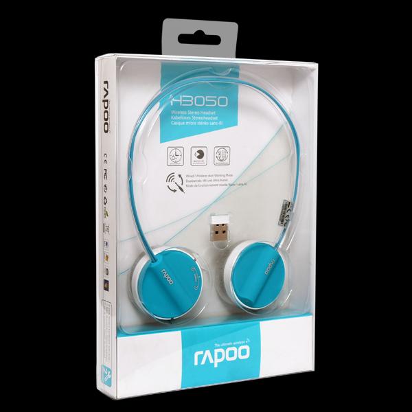 Rapoo Wireless Stereo Headset H3050 Blue фото