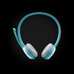 Стереогарнитура RAPOO H8030 wireless, голубая_67169