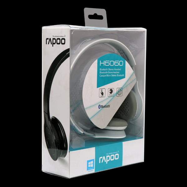 Rapoo Wireless Stereo Headset H6060 White фото