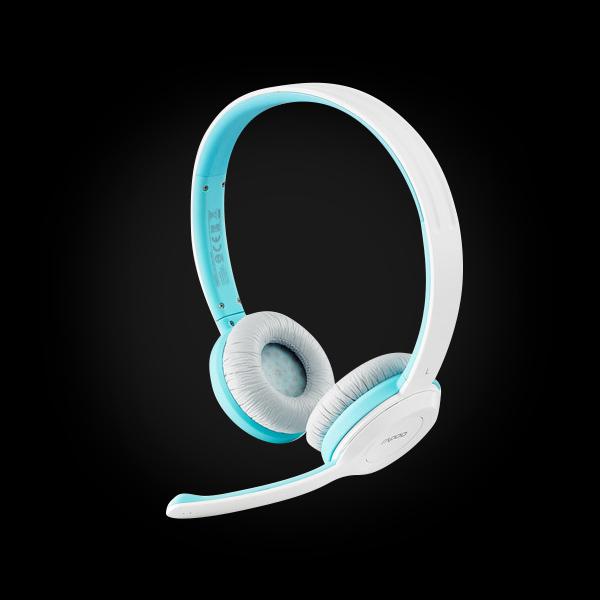 Стереогарнитура RAPOO H8030 wireless, голубая_67169 цена