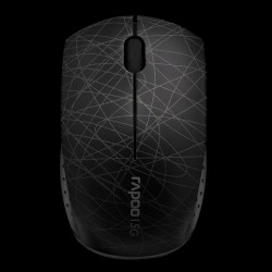 Rapoo Wireless Optical Mini Mouse 3300p Black