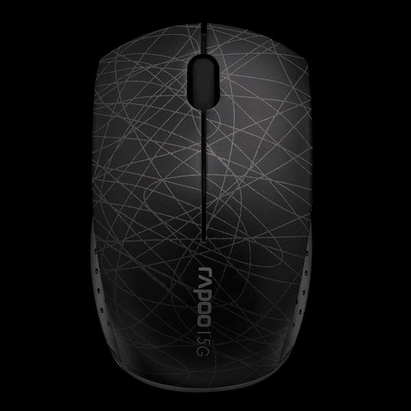 Rapoo Wireless Optical Mini Mouse 3300p Black фото