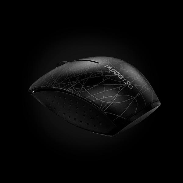 Rapoo Wireless Optical Mini Mouse 3300p Black купить