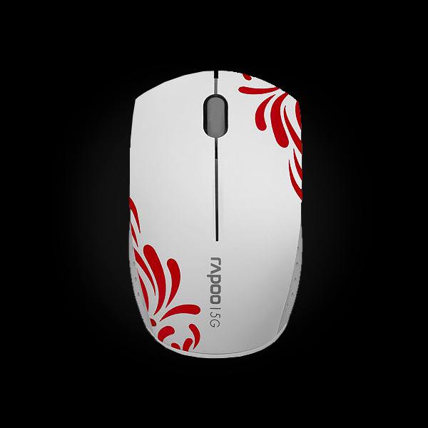 Rapoo Wireless Optical Mini Mouse 3300p White купить