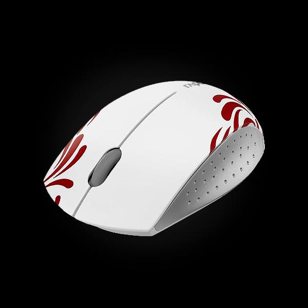 Rapoo Wireless Optical Mini Mouse 3300p White фото