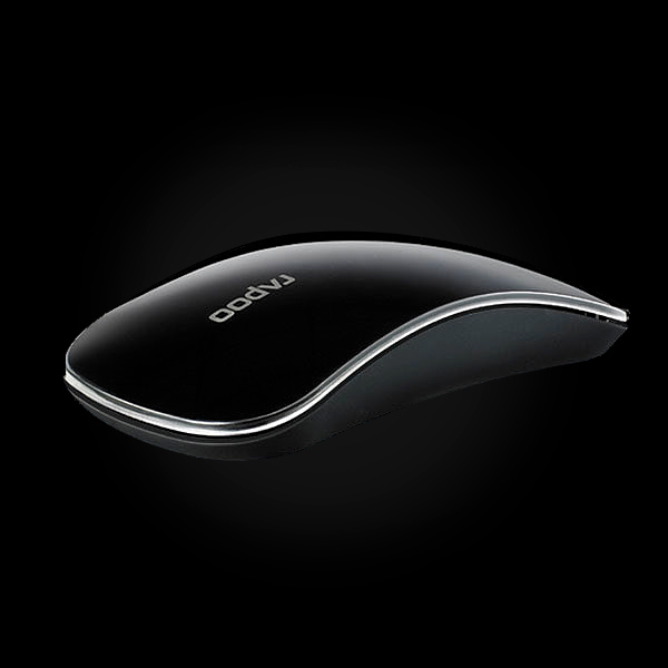 Rapoo Wireless Touch Optical Mouse T6 Black фото