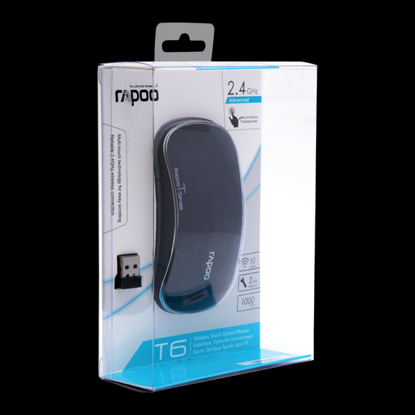 Rapoo Wireless Touch Optical Mouse T6 Black стоимость