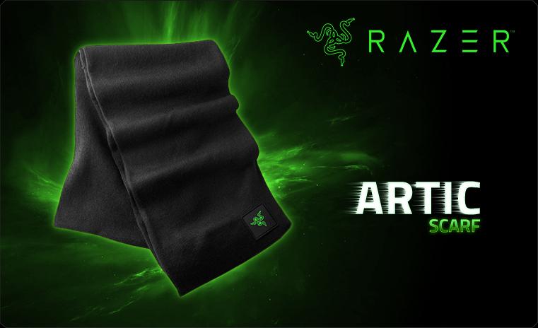 Шарф Razer Artic Scarf (RGF5U51F2Q-01-0500)