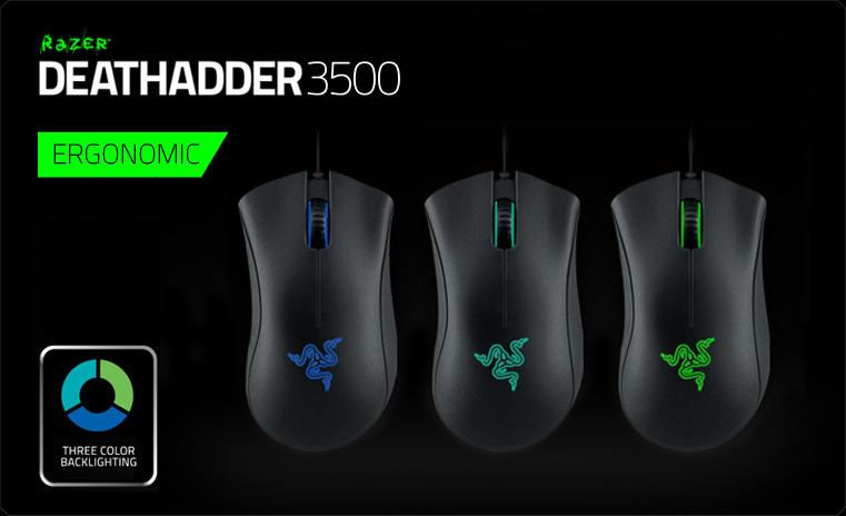 Razer DeathAdder 3500 dpi (RZ01-01630100-R3R1)