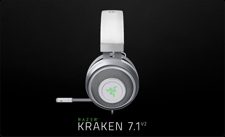 Razer Kraken 7.1 V2 Mercury Edition (RZ04-02060300-R3M1)