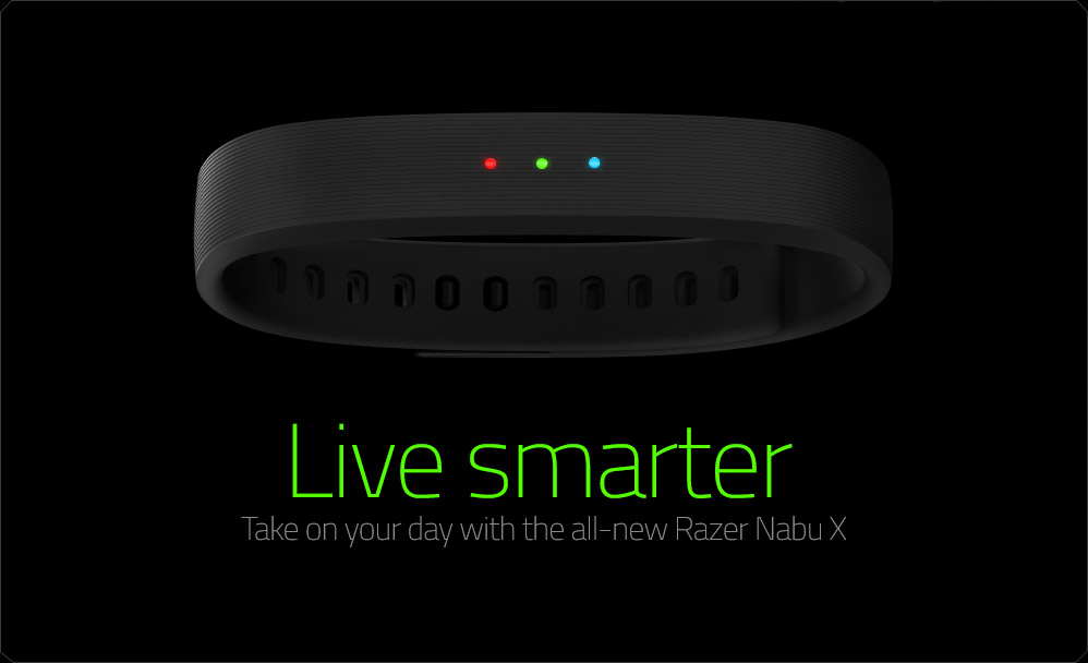 Razer Nabu X Smartband Black