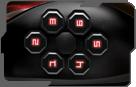 Razer Naga HEX Wraith Red Высокая производительность кнопок