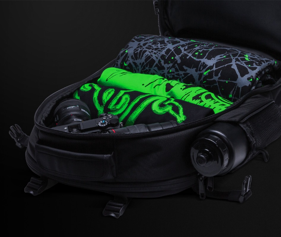 Razer Rogue Backpack внутри