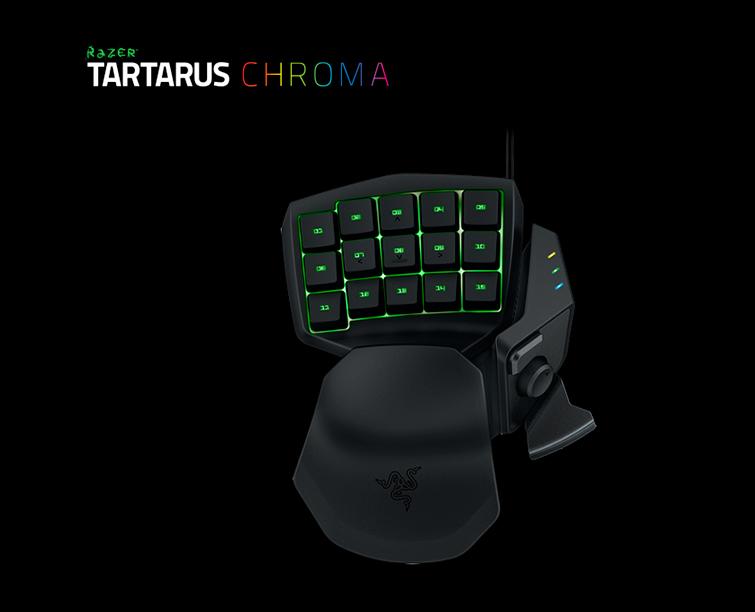 Внешний вид игрового кейпада RAZER Tartarus Expert CHROMA