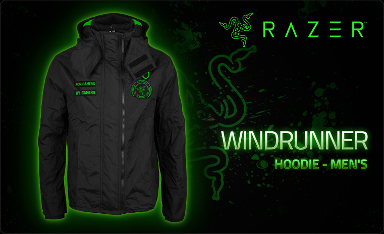 Razer Windrunner Hoodie Men L (RGF5M03S2X-01-04LG)