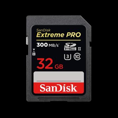 SanDisk 32GB SDHC C10 UHS-II (SDSDXPK-032G-GN4IN)
