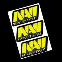 Na'Vi комплект наклеек