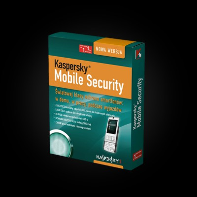 Kaspersky Mobile Security 9.0 CIS and Baltic Edition 1-PDA 1 year