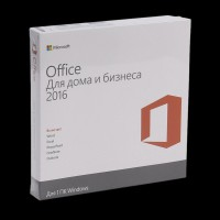Microsoft Office Home and Business 2016 32/64 Russian DVD P2