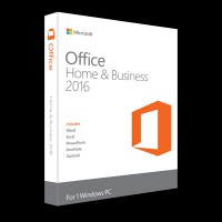 Microsoft Office Home and Business 2016 32/64 Russian DVD