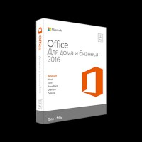 Microsoft Office Mac Home Business 1PK 2016 Russian Only Medialess