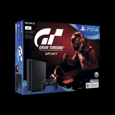 Sony PlayStation 4 Slim 1Tb + Gran Turismo фото