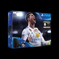 Sony PlayStation 4 Slim 1Tb + FIFA 18/DS4/PS+14Day