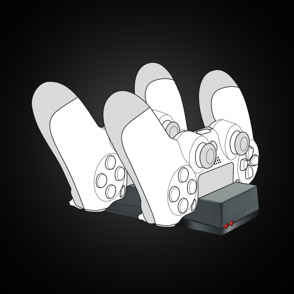 SpeedLink JAZZ USB Charger for PS4 (SL-450000-BK) цена
