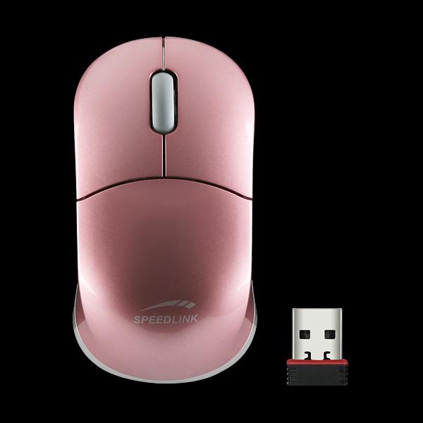Speed Link Snappy Wireless Nano, розовая (SL-6152-SPI-01) купить