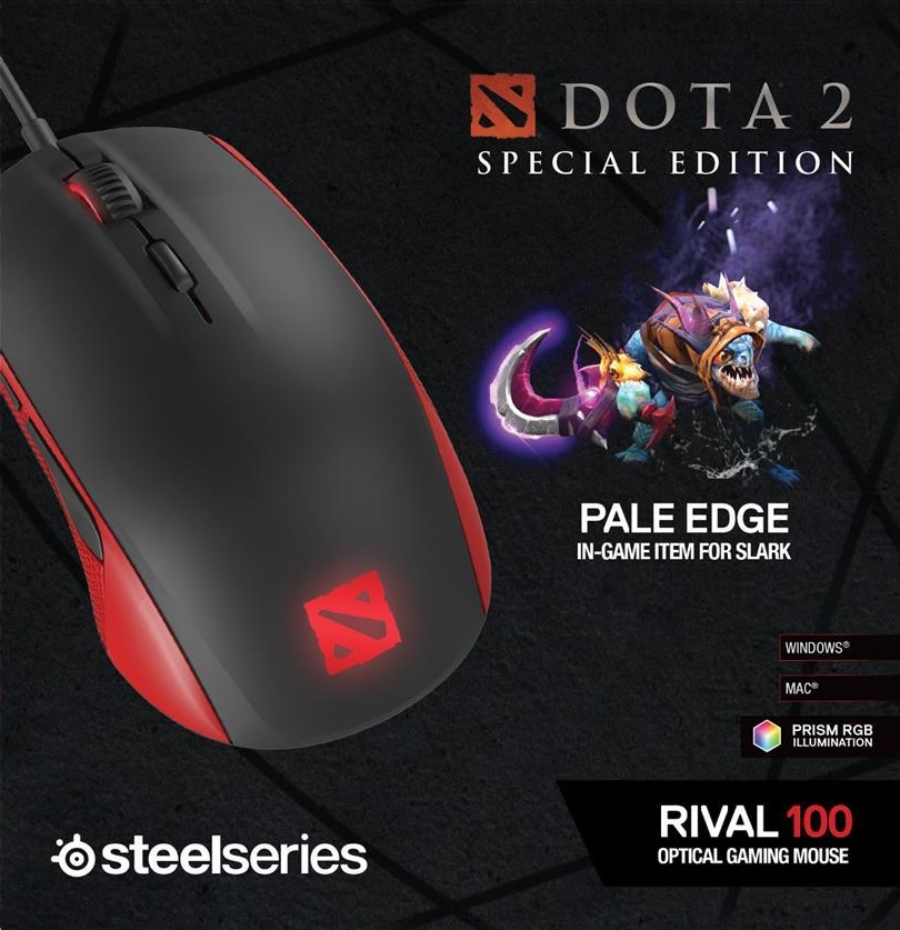 Мышь SteelSeries Rival 100 Dota 2 Special Edition