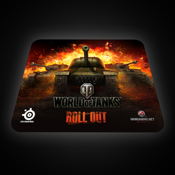 SteelSeries QcK World of Tanks Edition (67269)