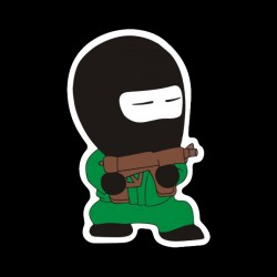 Counter Terrorist Soldier Sticker
