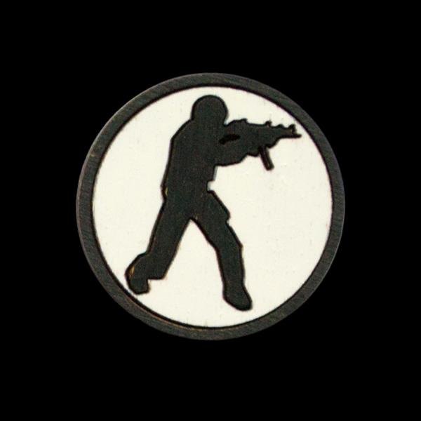 Значок Counter Strike купить