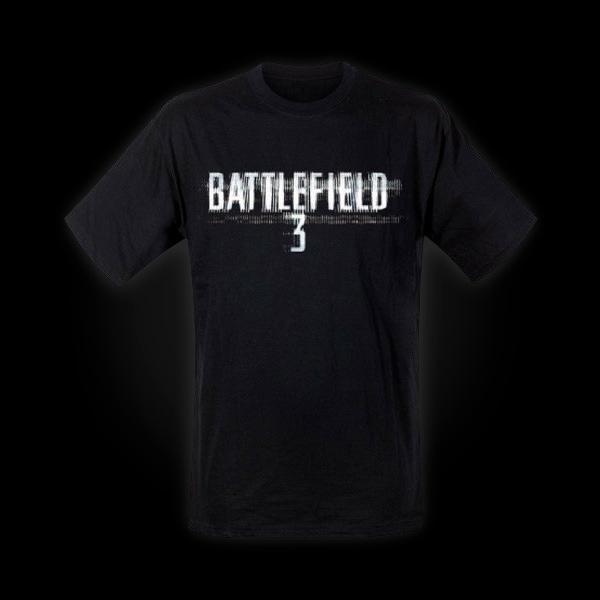 Battlefield 3 Distortion Logo T-Shirt L купить